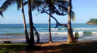 For sale Building land at 40 meters from the beach in Las Terrenas