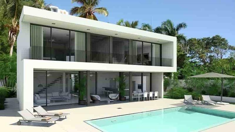 Residence luxury villas with golf course Las Terrenas