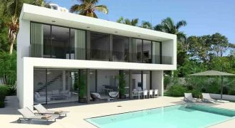 Residence luxury villas with golf course in Las Terrenas Dominican Republic