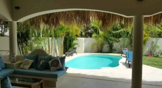 For sale New villa with land, inside residence villas in Las Terrenas