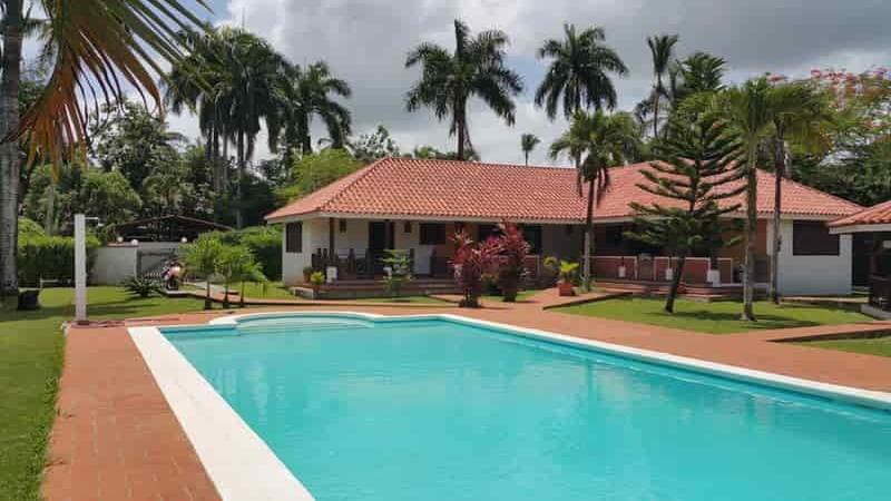 For sale villa in residence Las Terrenas