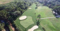 Residence luxury villas with golf course in Las Terrenas Dominican Republic